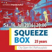 SQUEEZE BOX – 25 years